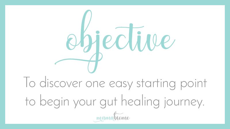 Get Started With Gut Health Objective-5 Simple Things You Can Do Today For A Healthy Gut