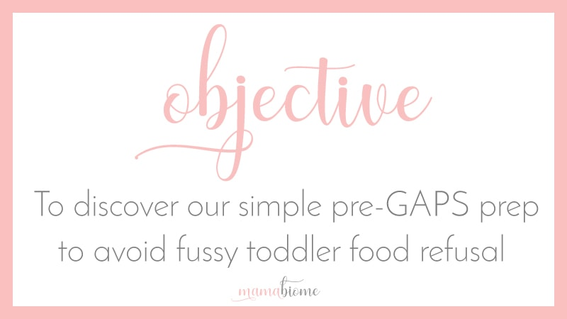 How We Avoided GAPS Intro Food Refusal With A Fussy Toddler - Mamabiome
